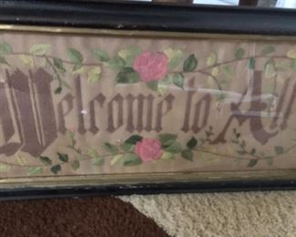 Late 1800's Needlepoint
