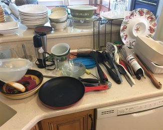 Lots more cooking items