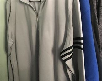 Brand new adidas 1/4 zip pullover.