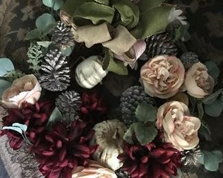 Gorgeous fall wreath.