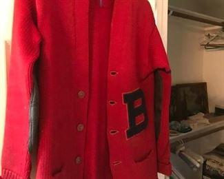 Vintage Lettered Sweater