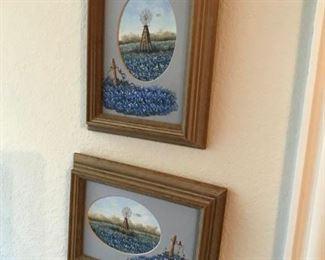 Blue Bonnet Paintings