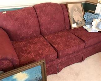 Brick colored Sofa