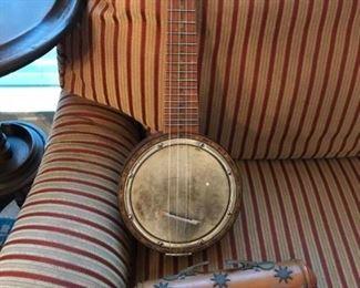Banjolele, or banjo  uke,  Harmony Kay 1920's model...