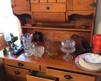Antique/Vintage Possum Belly Bakers Cabinet, very rare find...