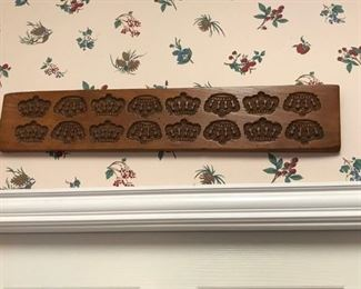 Old Cookie Molds