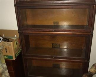 Globe and Wernicke Antique Lawyers chest/bookcase.