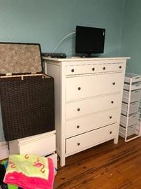six-drawer highboy dresser