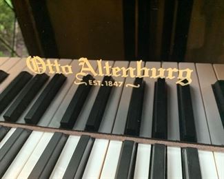 "170. Otto Attenburg 52"" Mini - Baby Grand w/ Gloss Black Finish"