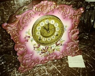 'Gilbert William' 1908 Porcelain clock
