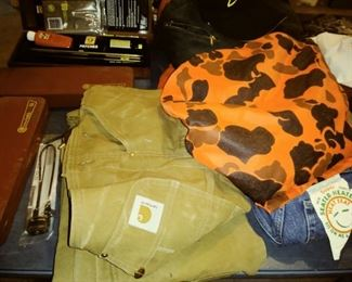 some hunting gear