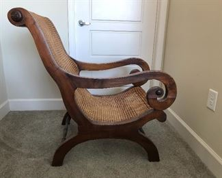 Side view of Colonial chair