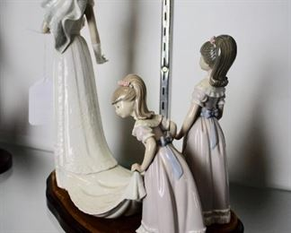 D54 #32 Here Comes the Bride Lladro #1446 Retired 1997