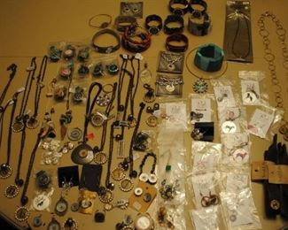 Wonderful selection of new stock jewelry      Also large selection of costume jewelry