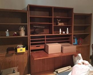 Three piece wall unit - excellent condition