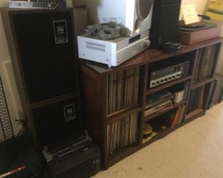 Vintage Stereo Equipment ,Turntable,Records,etc...