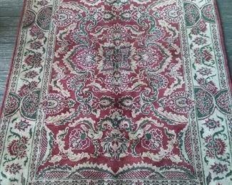 """India Wool area rug 6'1"""" x 4'1"""""""