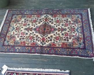 """Kerman Persian Rug 5'1"""" x 3'"""