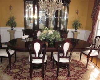 tunning Classic Roma Dining Room Suite Complete