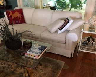 White sofa -excellent condition