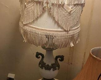 Unusual vintage lamp