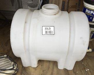 35 Gallon sprayer tank
