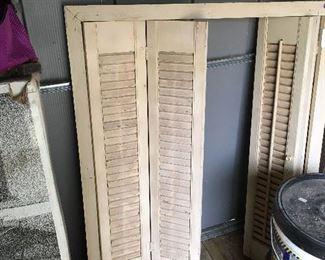 Just one of many shutters (Variety of sizes and type)