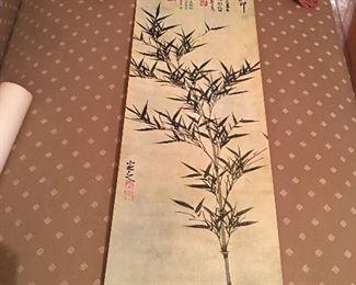 Vintage Asian print