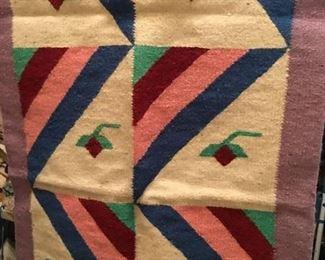 Vintage wool bedspread