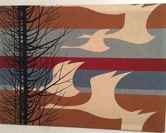 Vintage screen print fabric.
