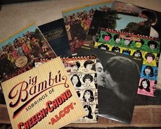 Collectible 70's Albums - Beatles, etc.
