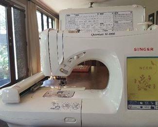 Embroidery Machine Singer Quantum XL-1000