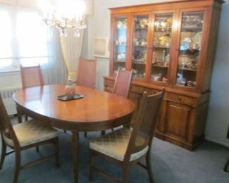 White & Company Dining Room Suite