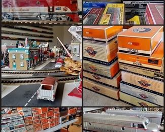 Lionel Trains, K-Line, Dept 56 and so much more!