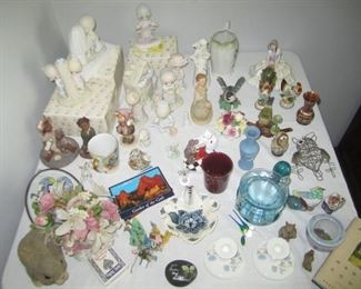 COLLECTIBLES, PRECIOUS MOMENTS, HUMMEL ROYAL DOULTON AND MORE