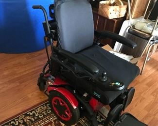 Invacare Power Wheelchair (RETAIL PRICE $6000+)   This chair is BRAND NEW ….. It will be sold at estate sale pricing ….