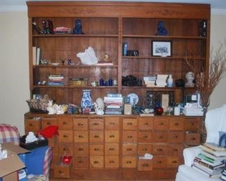 Fine Apothecary Cabinet