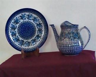 Polish hand made pottery