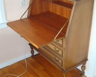 Early American drop front desk.