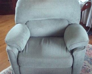 Matching recliner.