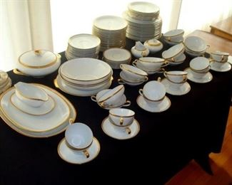 12 piece place setting KPG Germany china. 94 pieces.