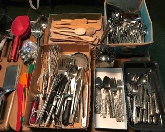 Stainless Flatware, gadgets