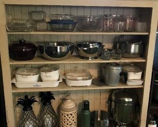 Pyrex, Corning ware, Beverage containers