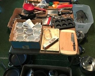 Pots and Pans and miscellaneous