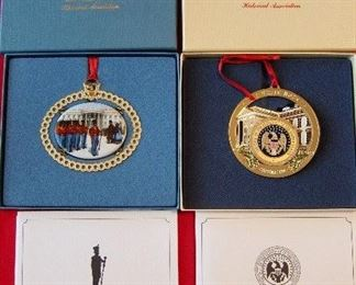 WHITE HOUSE CHRISTMAS ORNAMMENTS