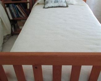 PAIR OF TWIN BEDS WITH STORAGE DRAWERS UNDERNEATH