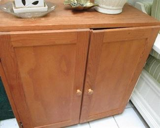 ONE OF A PAIR OF CABINETS