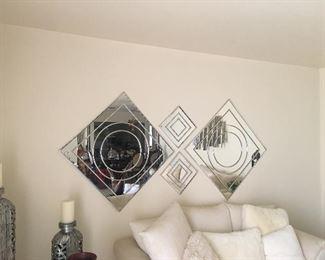 MCM Mirror Wall Art