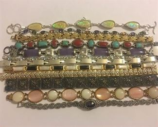 Fine Selection Sterling Silver & Gold Vermeil Gemstone Bracelets & Tennis Bracelets