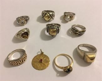 HUGE Assortment; 14K Gold, 18K Gold, 10K Gold PLUS MORE which isn't listed!